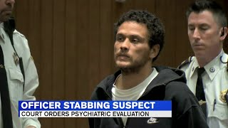 Man accused of stabbing Springfield officer appears in court