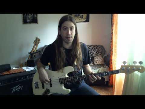 Download Youtube: Roberto Fasciani Studi ritmici per basso elettrico metodo di basso 1