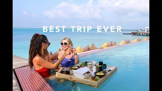 AD / WELCOME TO PARADISE! TRIP TO THE MALDIVES!   Estée Lalonde