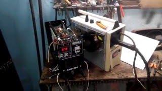 Полуавтомат своими руками #7 Изменение ВАХ на инверторе ММА(Несколько способов подружить инвертор ММА с подающим устройством. т.е модернизация инвертора ММА с круто..., 2016-03-25T17:42:21.000Z)