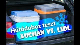Termékteszt: Auchan vs. Lidl - autós hűtődobozok csatája