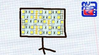 Светодиодный СОФТБОКС своими руками(Группа канала: https://vk.com/public106980867 Светодиодную ленту покупал тут: http://ali.pub/e37hn Если нужен инструмент, тебе..., 2015-12-26T13:03:45.000Z)