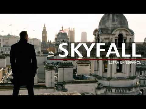 adele skyfall (letra en español)