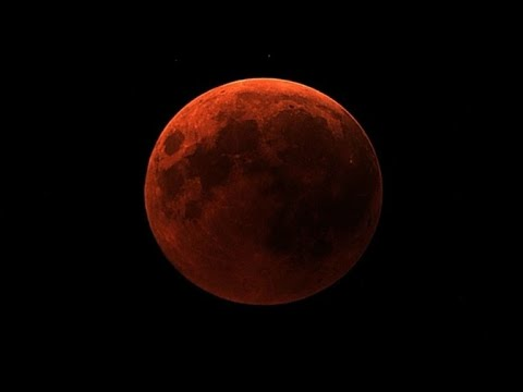 """Blood moon"" as seen from NASA's telescopes"