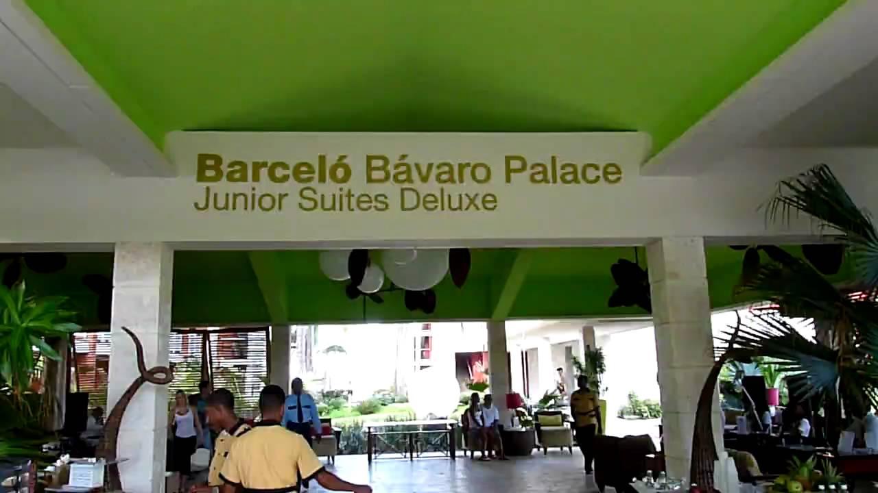 Lobby Barcelo Bavaro Palace Deluxe AndinaASCcom  YouTube
