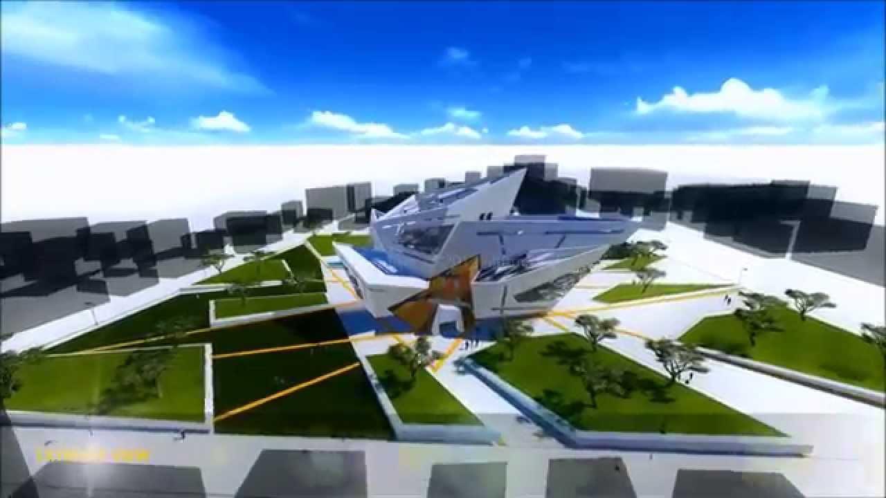 complex architecture freeform