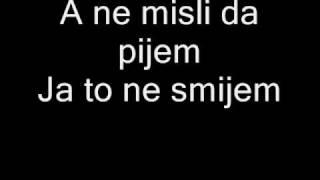 Dino Merlin - Ja potpuno trijezan umirem (Lyrics)