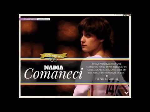 Nadia Comaneci historia