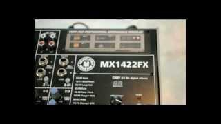 Hướng dẫn thay thế Module MP3-R vào mixer Mx1422 Fx của Topppro