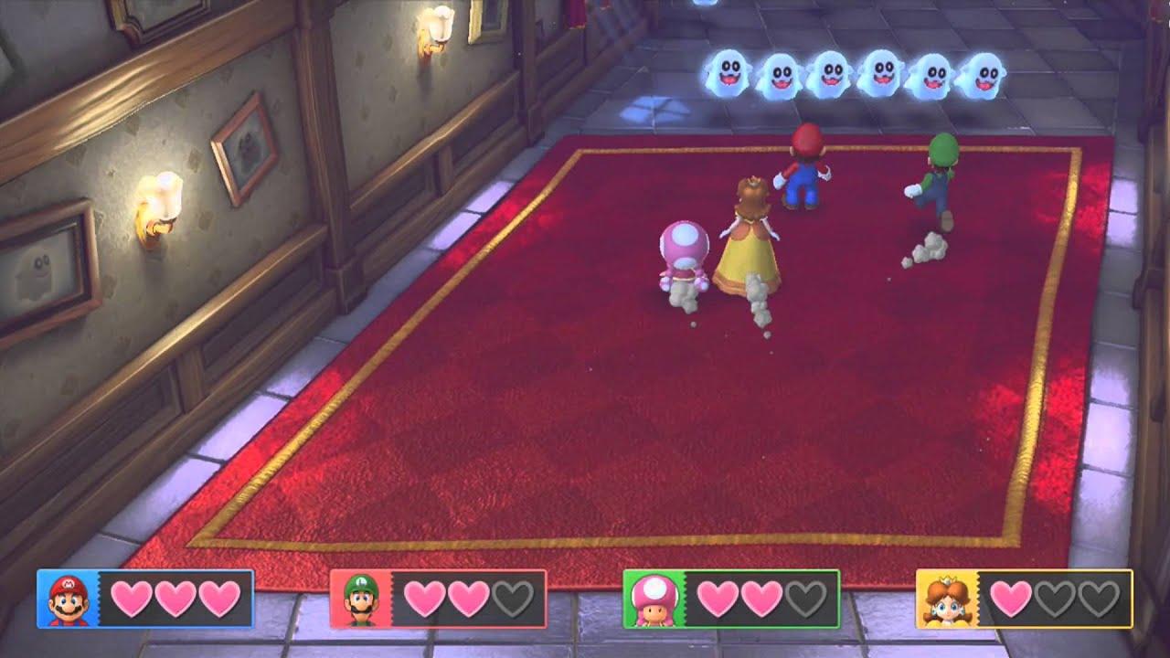 Mario Party 10 Mini Game Series Peepa Panic Youtube