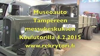 Rekrytori 2015 museoauto Liuttu Logistiikka