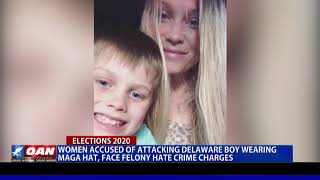 Women accused of attacking Del. boy wearing 'MAGA' hat face felony hate crime charges