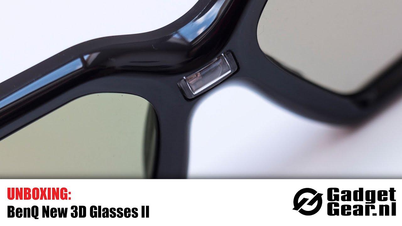 Unboxing  BenQ New 3D Glasses II - YouTube ddb29a98e5ecc