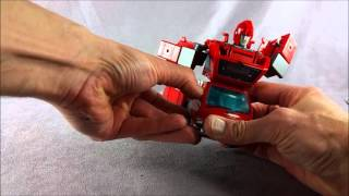 Transformers Masterpiece MP-27 Ironhide Review Part 2 - Transformation