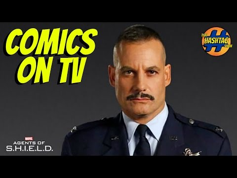 Adrian Pasdar Interview  [General Talbot on Agents of Shield] | Comics On TV | That Hashtag Show