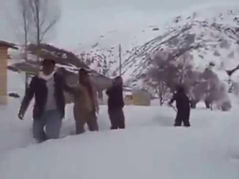 Kars'ta Kar Kürümek Böyle Olur / www.karsolay.com