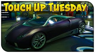GTA 5 Online - TOUCH UP TUESDAY! (Luxury Night, Gang Green & Pink Lemonade) [Cool Paint Jobs]