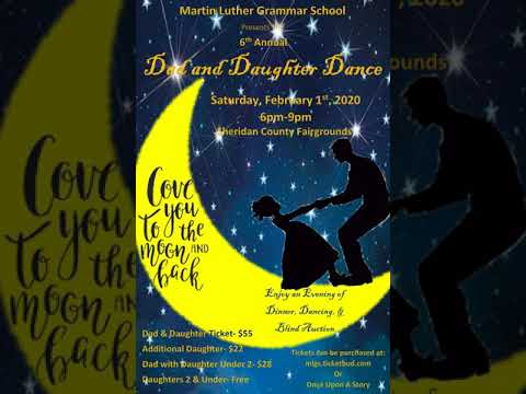 2020 Martin Luther Grammar School Dad And Daughter Dance