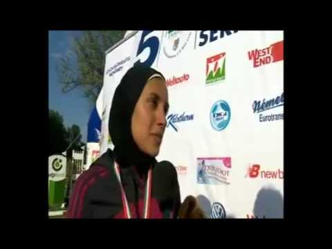 Aya Medany Wins The Gold Medal In 2011