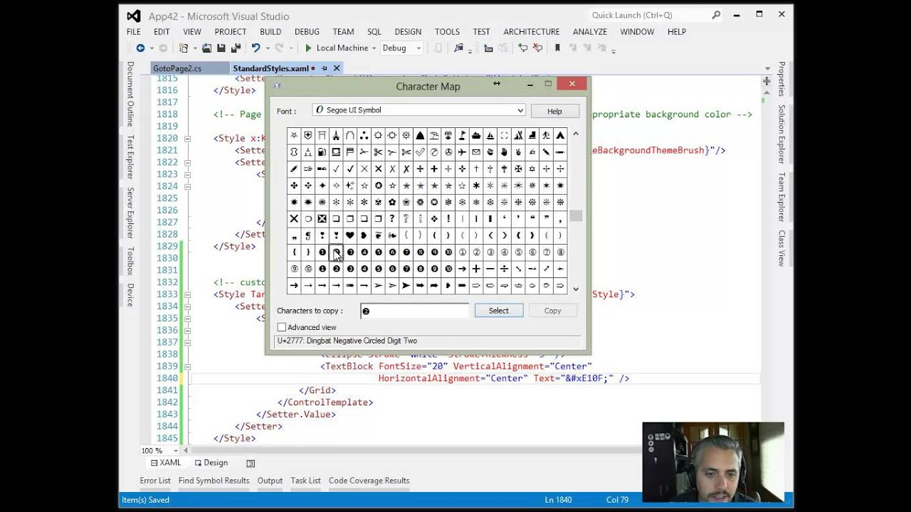 Jerry Nixon on Windows: Walkthrough: A Custom Control in XAML isn't