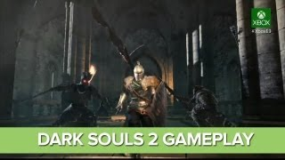 Dark Souls 2 Gameplay at E3 2013 - Dark Souls 2 at Microsoft E3 Conference
