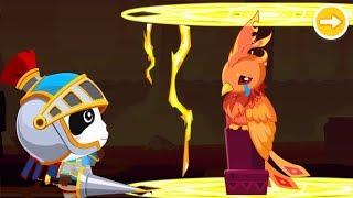 ★NEW★英勇的奇奇小騎士,快來幫助哭泣的鳳凰,奇妙的邏輯冒險 | 幼兒教育遊戲 | 官方影片 | 寶寶巴士