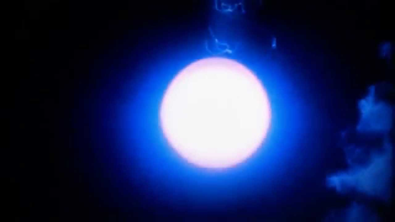 Nuclear Explosion in Space (EMP) - YouTube