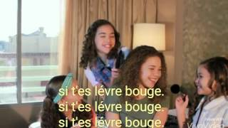 Your lips are moving- traduction française ( hachack sister)