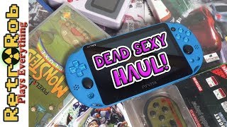 DEAD SEXY Retro and Modern Video Game Haul -- Playstation, Atari Jaguar, Clones and More!