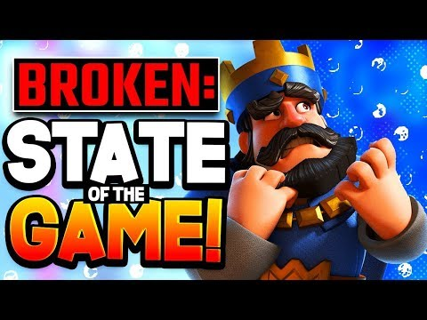 STATE OF CLASH ROYALE In 2020 | Broken Podcast Special Edition