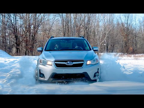 Subaru Crosstrek vs 4runner vs DEEP snow
