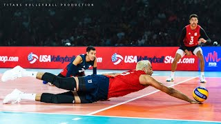 TOP 10 Best Volleyball Long Rally Actions 2019