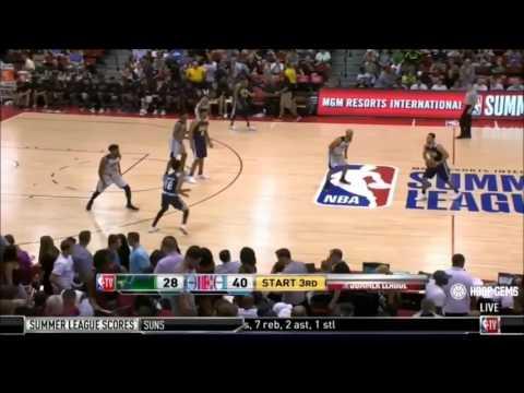 "Devondrick Walker ""2017 NBA Summer League Highlights"" - Utah Jazz"