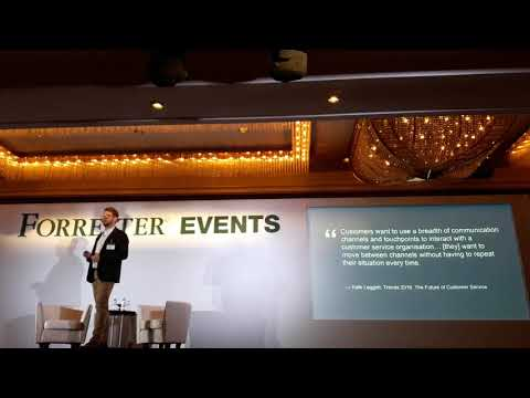Tom Blackman From ZenDesk   Forrester CX 2017   Singapore