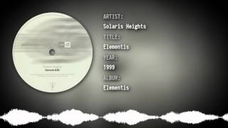 Solaris Heights - Rivers (We Are Not Remixes)