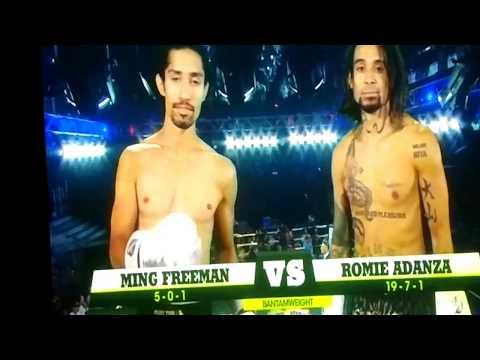 Ming Freeman vs Romie Adanza Lion Fight 32