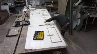 видео Изготовление табличек и вывесок