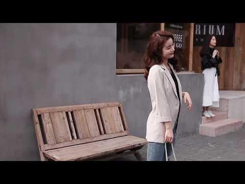 kirahosi 정장 재킷 여성 봄 가을 얇은 섹션 여성 의류 셔츠 정장 + 덧신 증정 R2emvjd