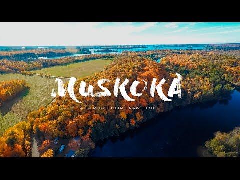 Muskoka Colours // Fall Aerial Video