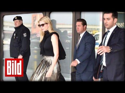 Ivanka Trump in Berlin gelandet - Erster offizieller Deutschland-Besuch