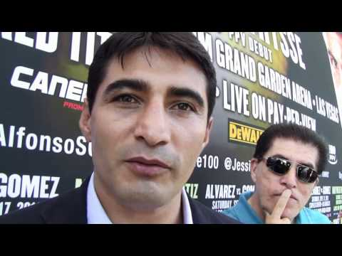Boxing Legend Erik Morales English Interview