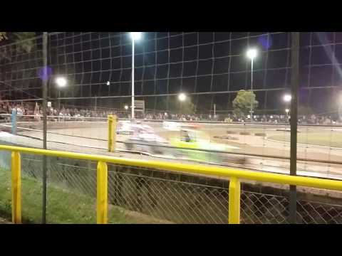 Final Micro Stox Race at Arlington Raceway 7 September