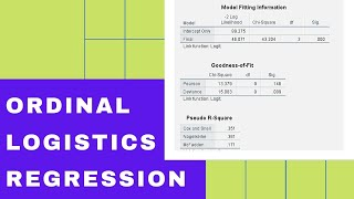 How To Do Regression Analysis For Likert Scale Data? Ordinal Logistic Regression Analysis