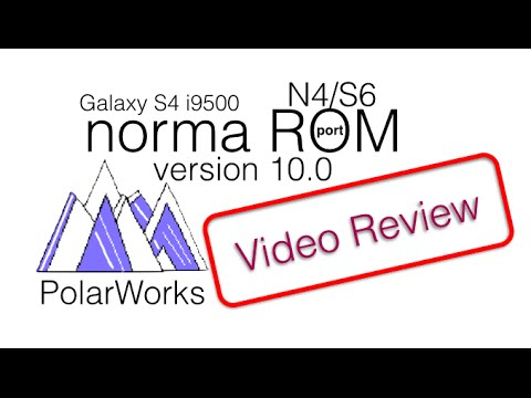 S4 i9500: norma ROM v10 International LP 5.0.1[Video Review]