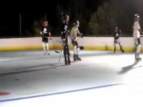 2010 Bermuda Inline Hockey: Penguins vs Leafs