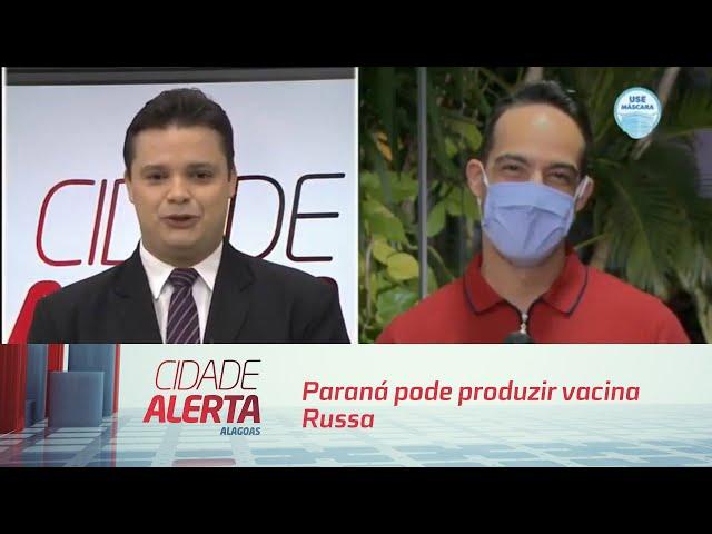 COVID-19 : Paraná pode produzir vacina Russa