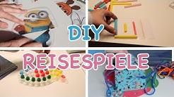 DIY REISESPIELE - Spiele für unterwegs selber machen / Busy Bags / Kinderspiele / TäglichMama