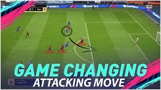 1 SECRET ATTACKING MOVE TO TAKE YOUR GAME TO THE NEXT LEVEL - FIFA 19 TUTORIAL