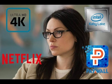 Kaby Lake Netflix 4k DRM sorry no 4k stream for you unless you upgrade