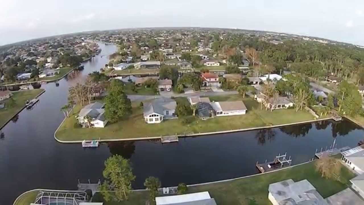 Palm Coast Florida Flyover Club House Road Youtube